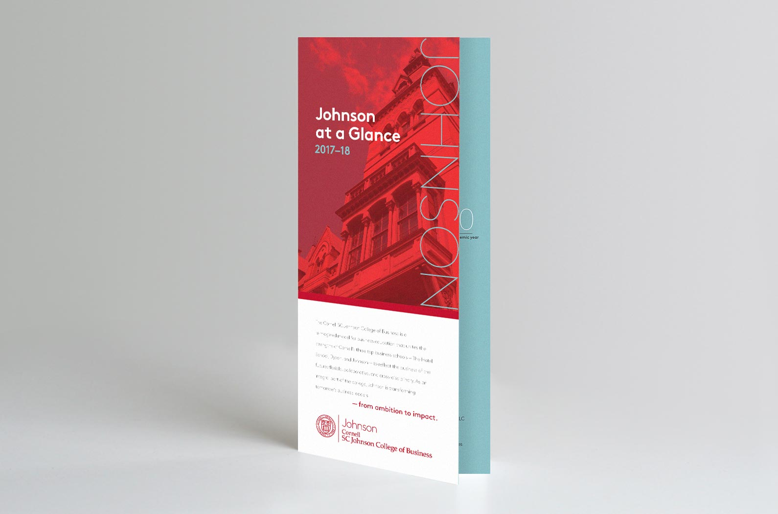Johnson At a Glance Trifold Brochure Front