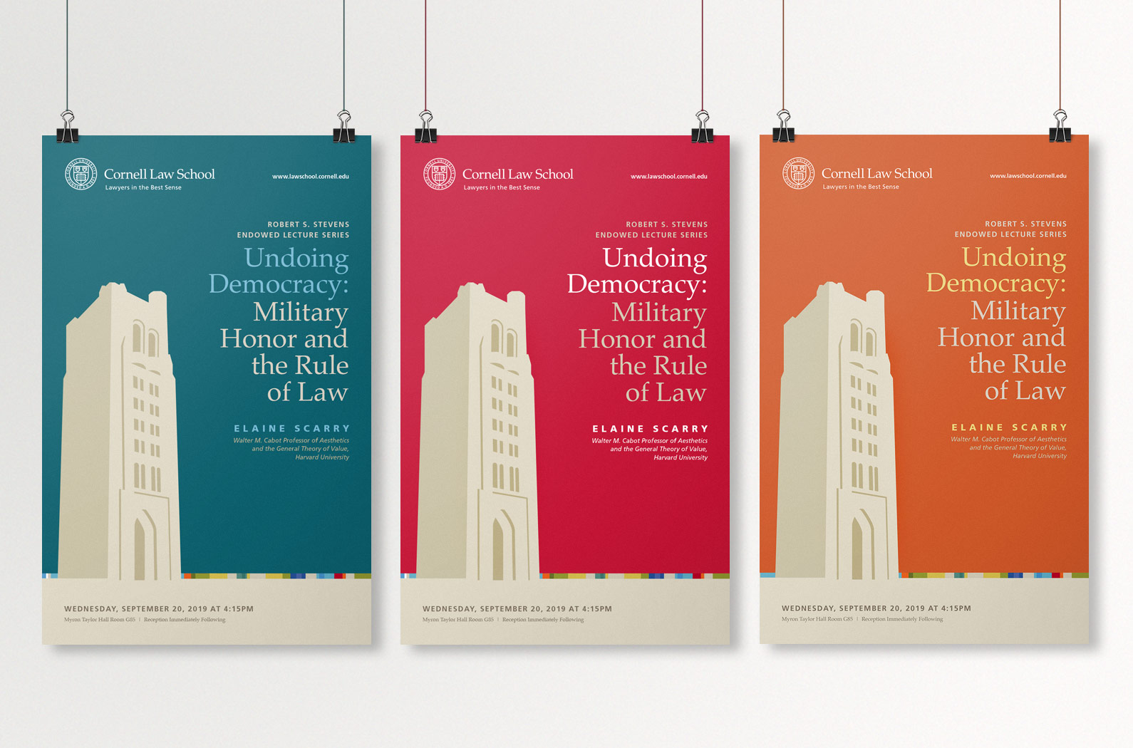 Cornell Law School Poster Templates