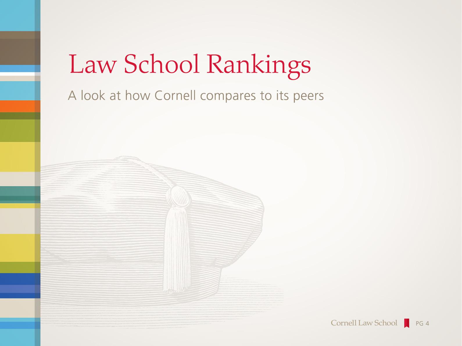 Cornell Law School PowerPoint Template Main Slide