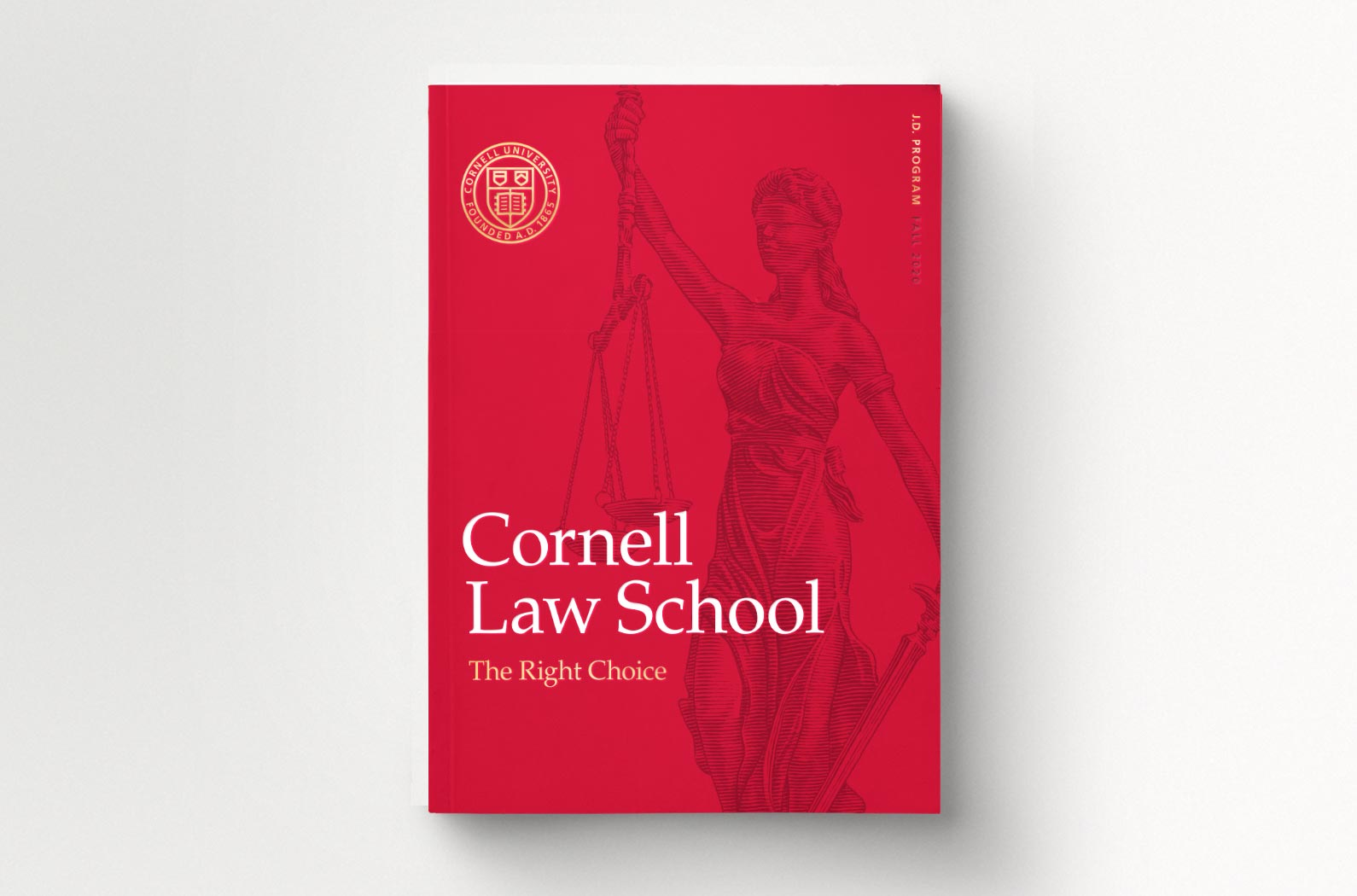 Cornell Law School J.D. Viewbook Cover