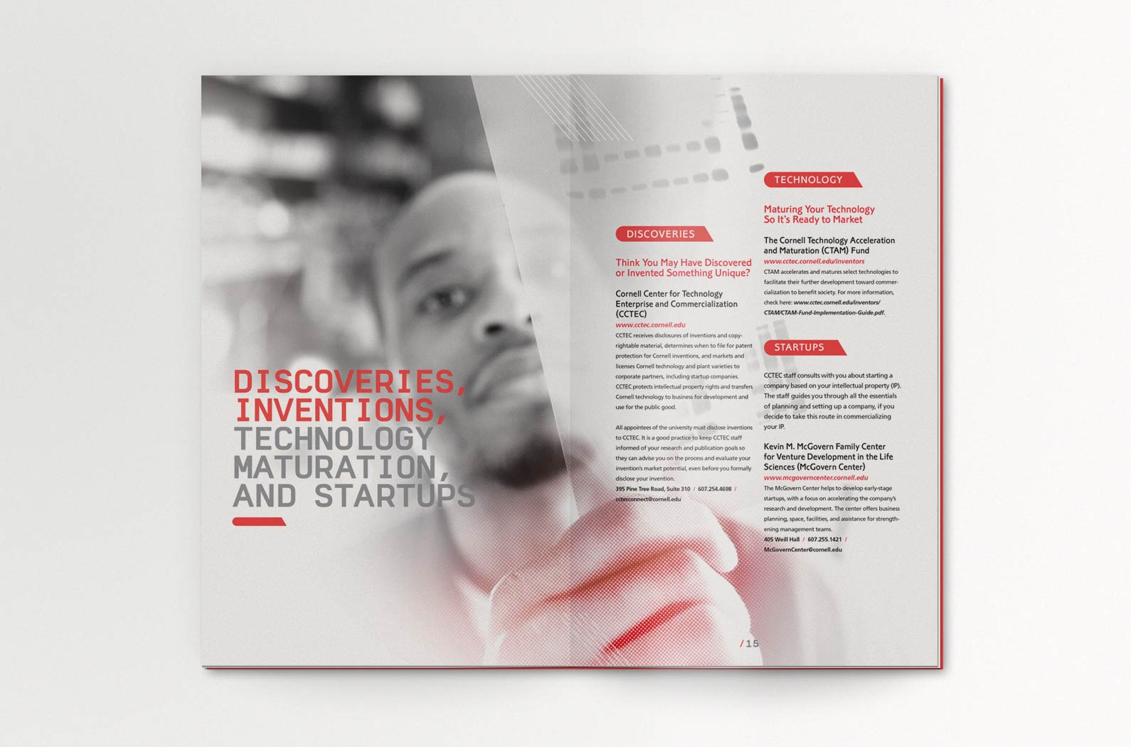 Cornell Research Administration Support (RAS) Faculty Guide Interior Spread