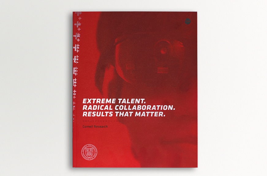 Cornell Research Annual Report Publication Cover