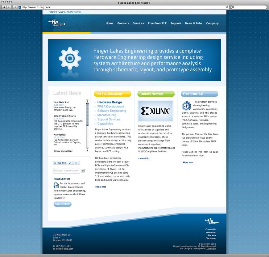 Finger Lakes Engineering Website