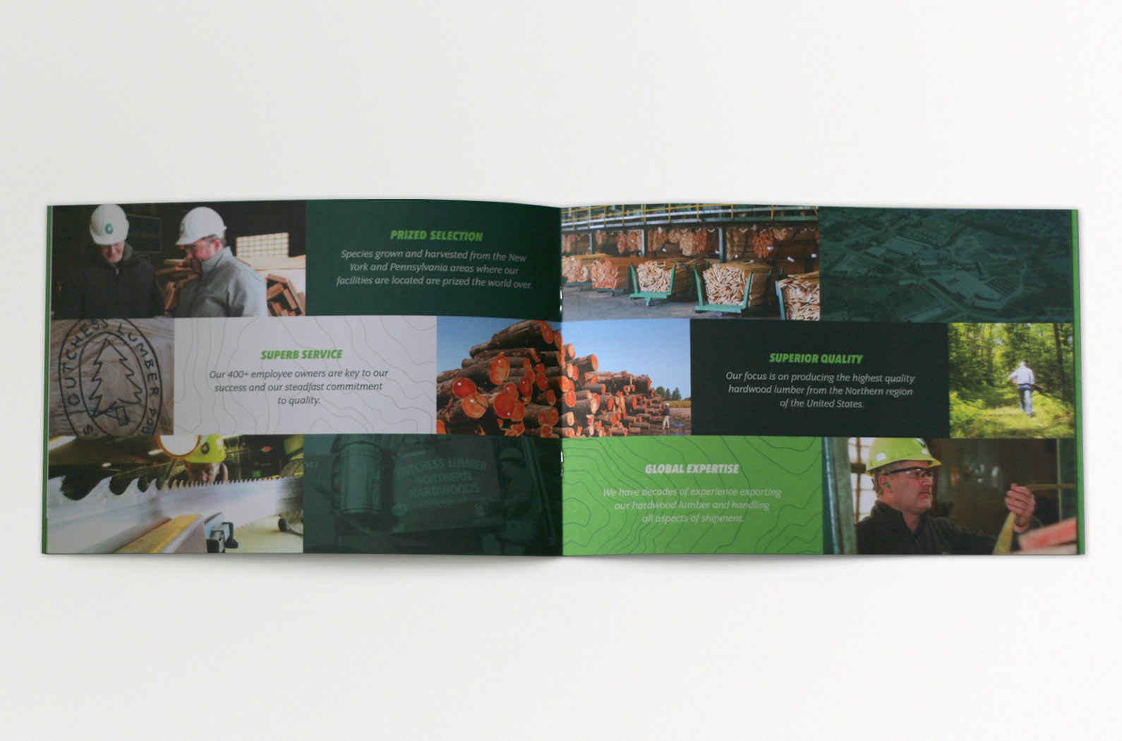 Gutchess Lumber Sales Brochure Interior Spread