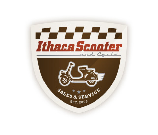 Ithaca Scooter & Cycle Logo